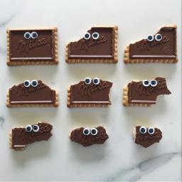 freetoedit mylunch pcchocolate chocolate pcgetsilly