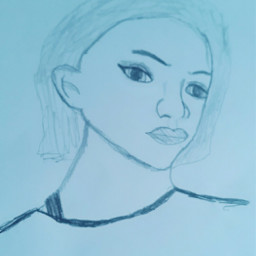 drawing girl kwaii cute mydrawing