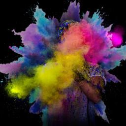 freetoedit holi colorsplash picsart remixit srcholiishere
