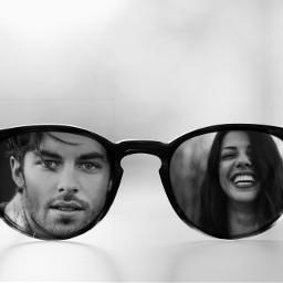 freetoedit man women love glasses