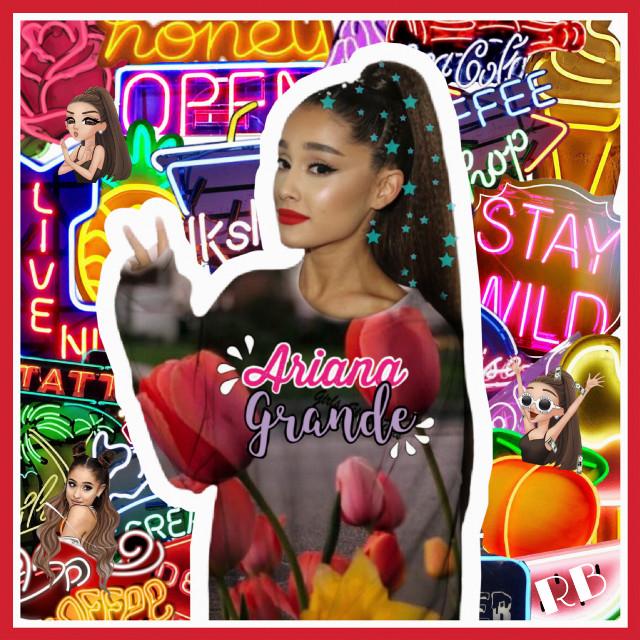 #arianagrande #singer #neon