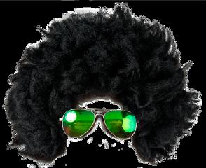 freetoedit afro sunglasses dressup hair