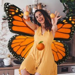freetoedit fruit oranges beautifulwoman