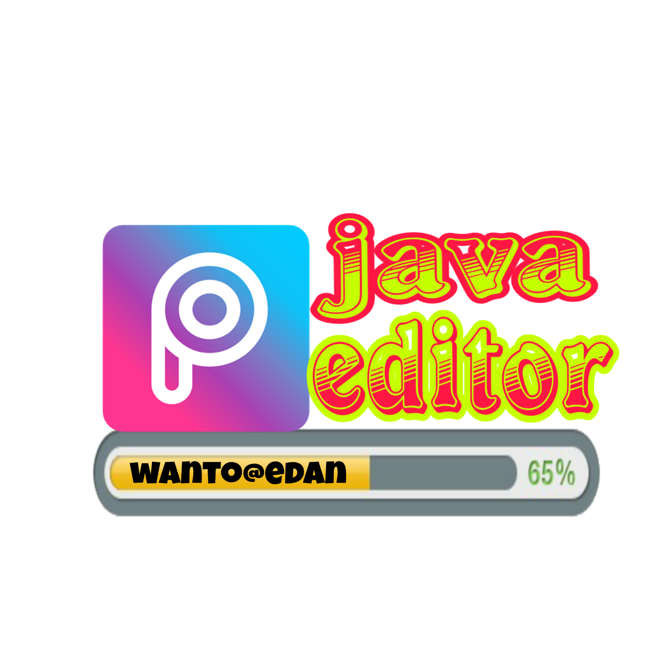 java editor - Sticker by Tris Wanto