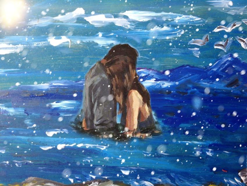 #freetoedit  #море #sea #девушка #парень #картинка #снег #облака #вода #солнце #объятия #Любовь #girl #guy #picture #sun #water #snow #love #couple #hug #picture #пара