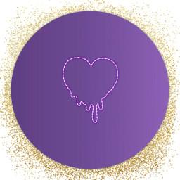 freetoedit heartmelting ircpurple purple