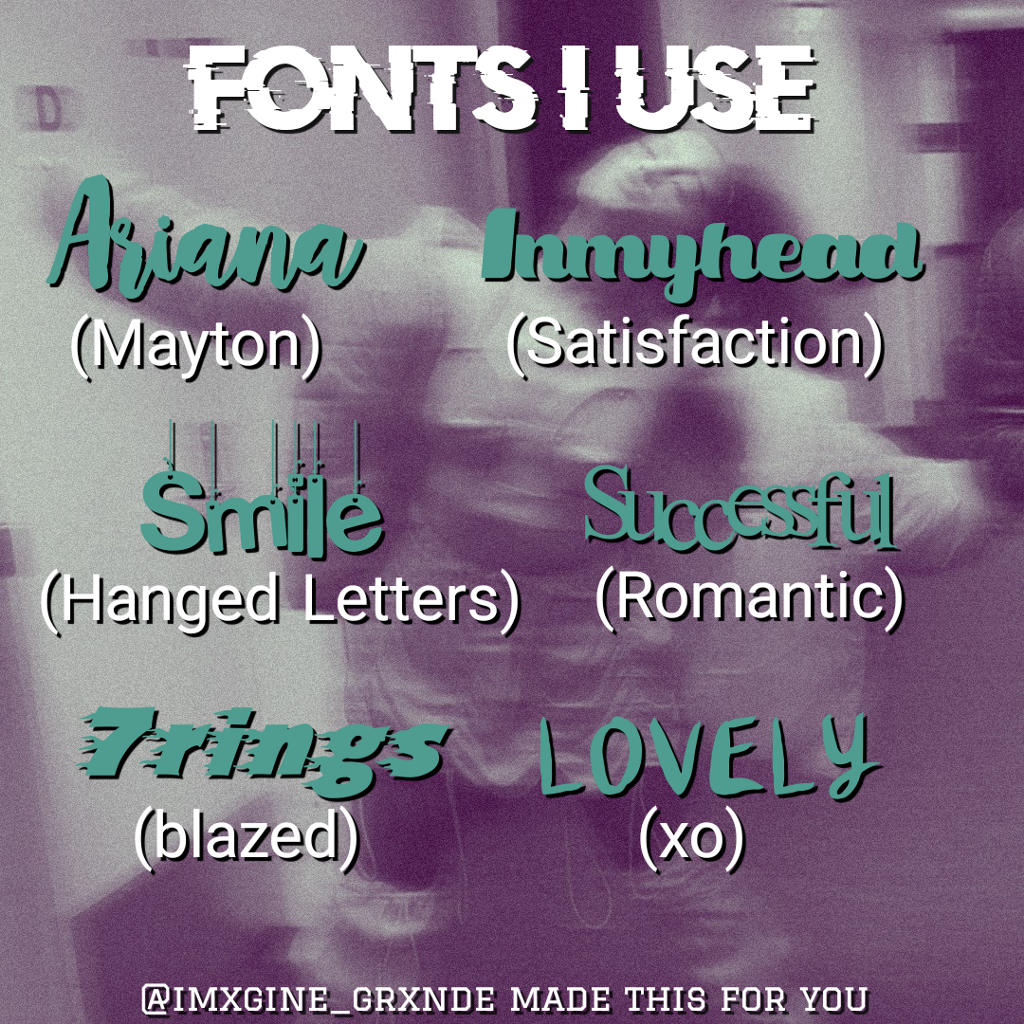 Download Open🔓 Font pack requested by @arimyangel and @mcr-way...