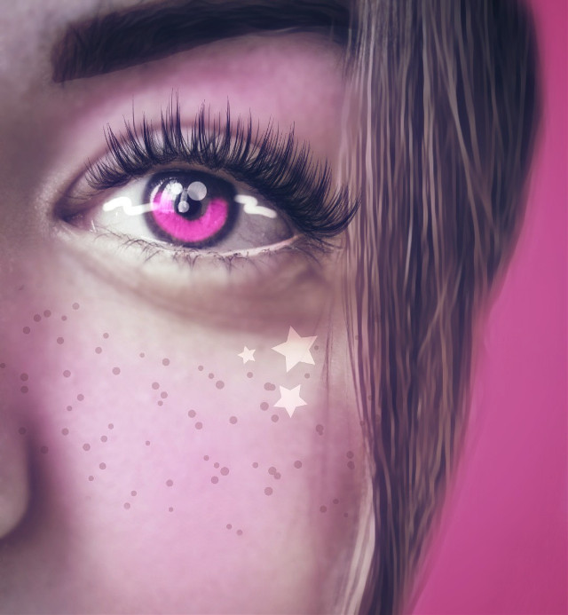 Original image from @lily1424 gallery #drawtools #layers #pink #editstepbystep #madewithpicsart #myedit #artisticselfie
