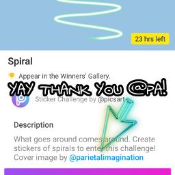 swirl stickerchallenge freetoedit
