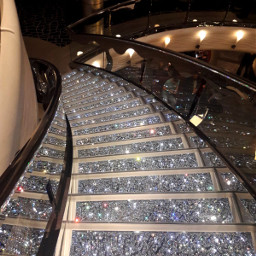 scale glitter shine shiny yatch pcstairways