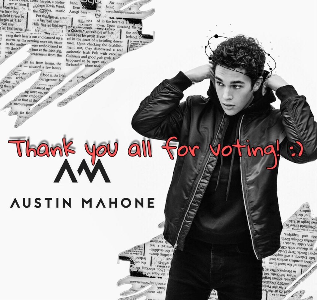 #freetoedit Can't believe I won! I saw so many amazing edits. Great job to all the picsartists! #austinmahone #edit #challenge #thankful #grateful #picsart