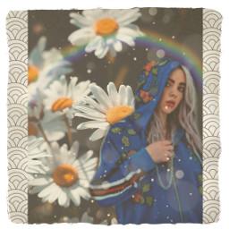 billieeilish billieeilishedits billieeilishfan indiepop flower freetoedit