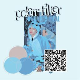 polarr_app polarr btssuga suga aesthethicblue