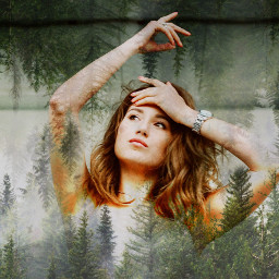 freetoedit forestgirl forest woman myedit