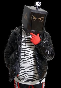 rockmadethat robot mask helmet eyes freetoedit