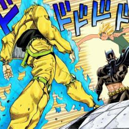 freetoedit batman shaggyrogers jojobizarreadventure diobrando