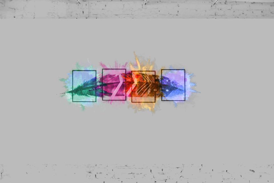#freetoedit #feather #beautiful #colorful #colorpowder #powderexplosion