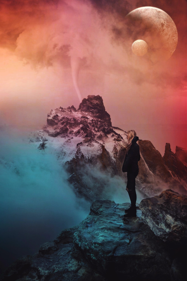 Enjoy your weekend😊 Image from @freetoedit gallery and Unsplash #photomanipulation #surreal #photoblending #madewithpicsart #gradienteffect #cutouttool #edited