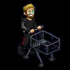 sticker pewdiepie trolley pixel freetoedit