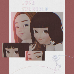sisters loveyourselfanswer loveyourselftear loveyourself_her bts