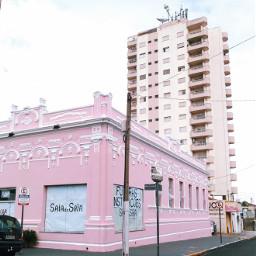 freetoedit urban pink building street