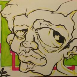graffiti paint paper art myart
