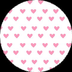 hearts circle koło kolo kółko freetoedit