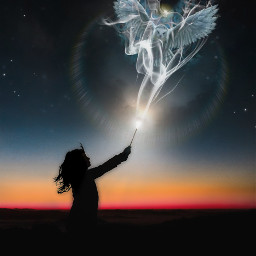 freetoedit overlay magic owl silhouette