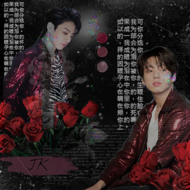 #freetoedit #jk #jungkook #black #chinesetext #bts #bangtanboys #1day #edit #red #roses  ❤️❤️❤️ Ya faltan solo horas para el comeback... Estoy emocionada