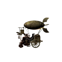 flyingmachine flying futuristic machine steampunk freetoedit