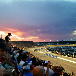 sunset colorful racetrack nightrace gorgeous freetoedit