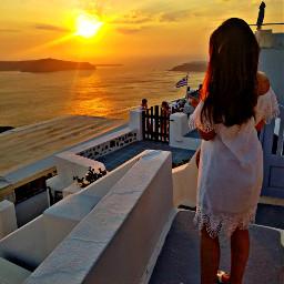 freetoedit endlesssummer santorini islandlife amazingview pcthegoldenhour