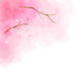 ftestickers springtime watercolor cherryblossoms pink freetoedit