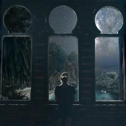 freetoedit window aesthetic vivid lucid ircintothegreen