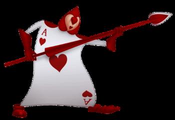 card poker aliceinwonderland freetoedit