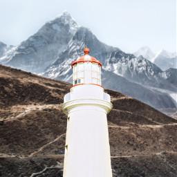 freetoedit lighthouse mteverest everest