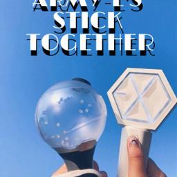 freetoedit bts exo armyl together