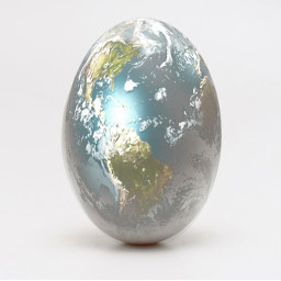freetoedit egg earth easter minimalism