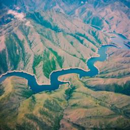 guatemala aerialphotography nature river