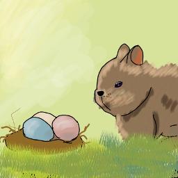 easter ovos coelho freetoedit dceaster