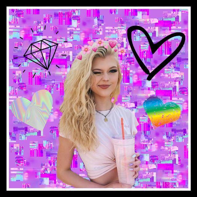#freetoedit #lorengray #stylegirl #fan #glitter #girl