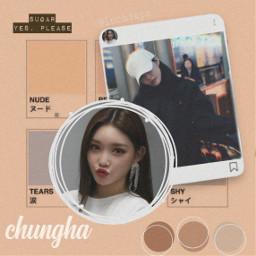 chungha kpop solo gottago edit freetoedit