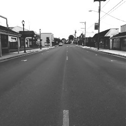 stark road smalltown blackandwhite lowcontrast freetoedit