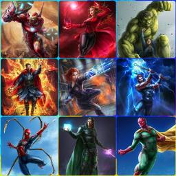 avengers ironman scarletwitch brucebanner hulk freetoedit