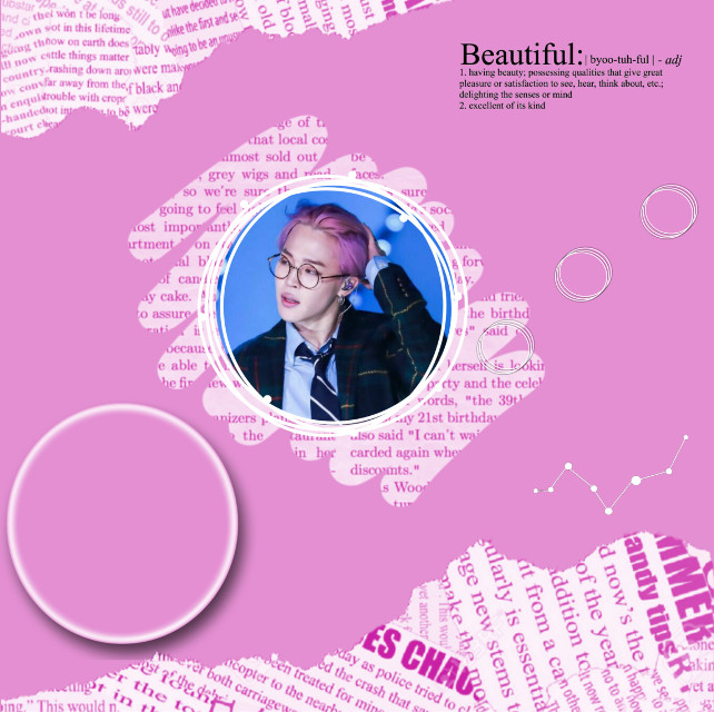 #freetoedit Jimin in Pink!!❣#bts #jimin #park #edit 💜