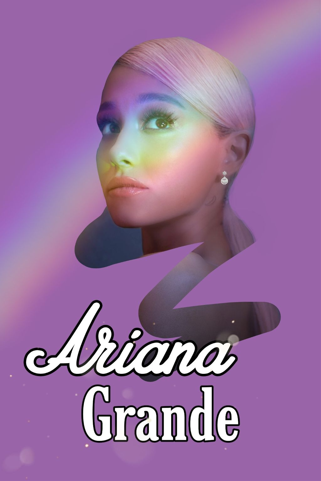 Instagram/YouTube: Margo Picsart ✨💕 #freetoedit #arianagrande #sweetener #arcoiris #girl #text