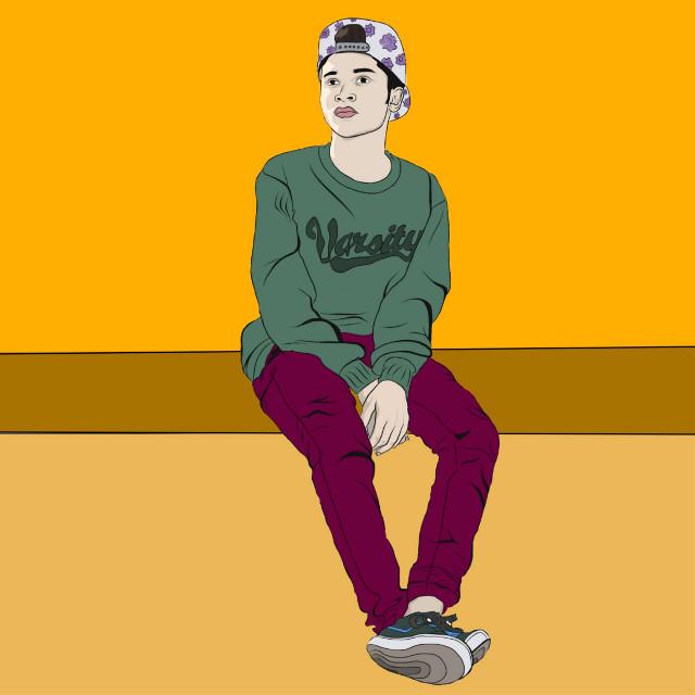 #freetoedit #illustration #editing #vector_art #idol