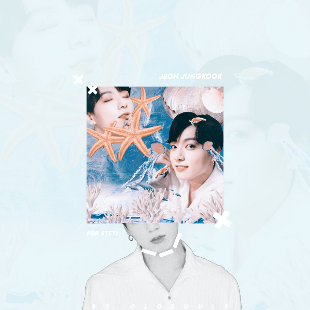 [ • ]          24th April Wednesday 2019      - Aquatic theme for @steyi : how did you come up with such a request?! 😔😂 This edit made me cry lol. This is the 5th draft. 😌       +All  credits :  - DeviantArt Beapanda | Jungkook stickers  - Aquatic things  |    DeviantArt  - Overlays | Picsart  - Other apps used | Phonto      +Tags :  #jungkook#jeonjungkook #bts #btsedit #jungkookedit #kpop #kpopidol #kpopedit
