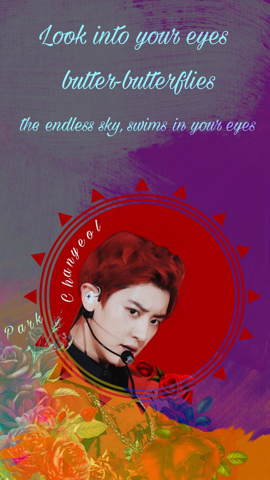 Exo Chanyeol Wallpaper Lyrics Quotes Beautiful Happyvor