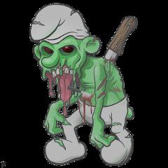 green effects cartoon horrors horror schlumpf fte ftestickers freetoedit